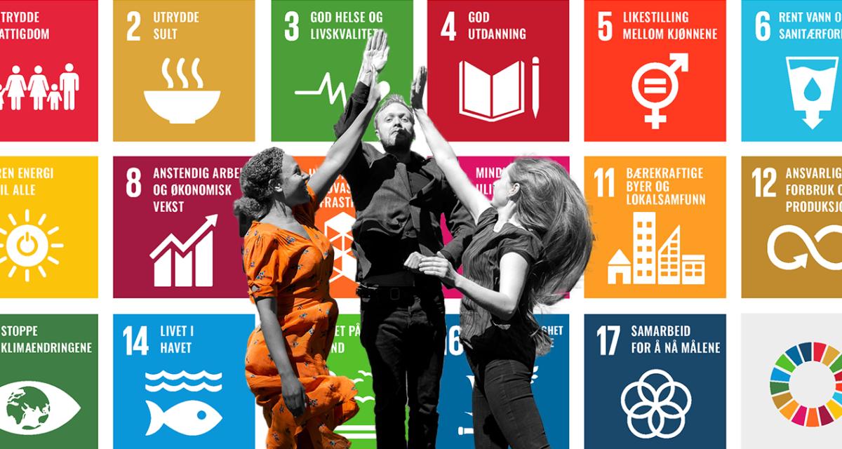 Slik bidrar vi sammen til FNs bærekraftsmål